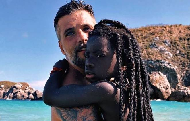 Bruno Gagliasso com a filha Titi