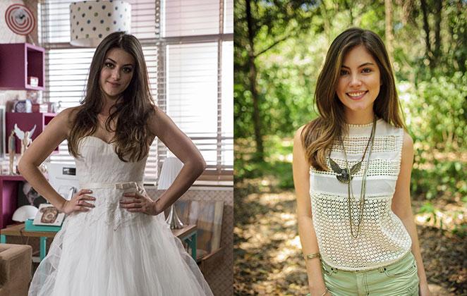 Anaju Dorigon e Bruna Hamú em cena de Malhação: Sonhos