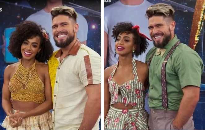 Dandara Mariana e Diego Maia no Dança dos Famosos
