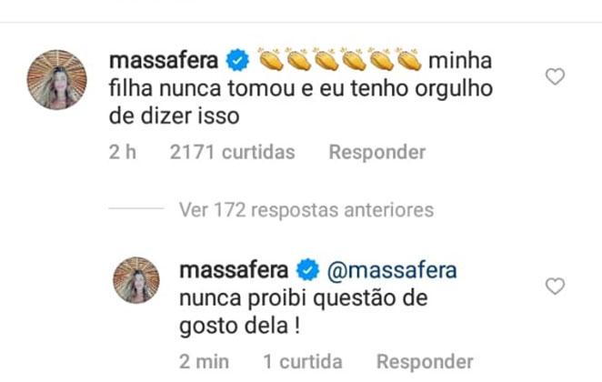 Grazi Massafera diz que a filha Sofia, de nove anos, nunca tomou Coca-cola