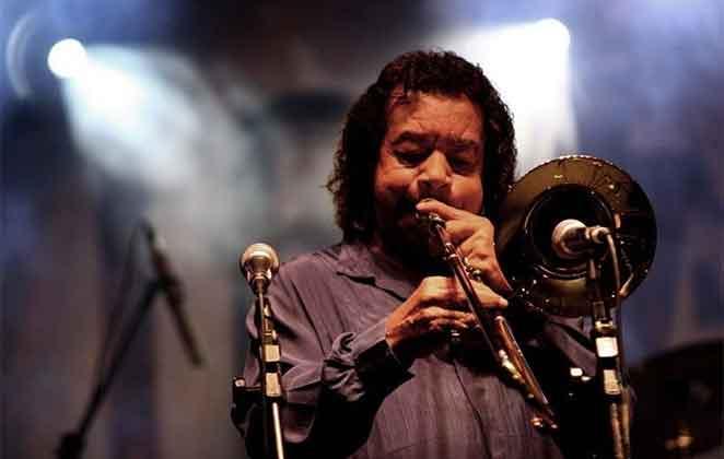 Raul de Souza tocando trombone